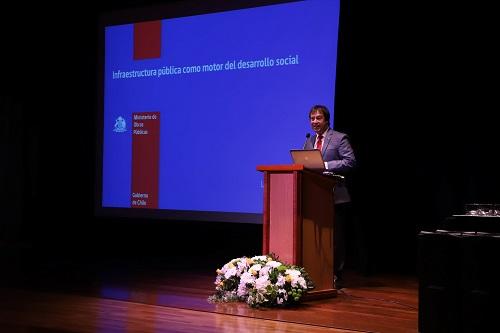 El subsecretario de Obras Públicas, Lucas Palacios, fue el invitado a la inauguración del año académico 2019.