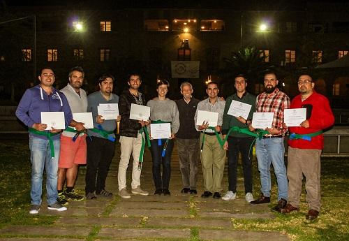 La ceremonia se realizó en el campus Los Leones.