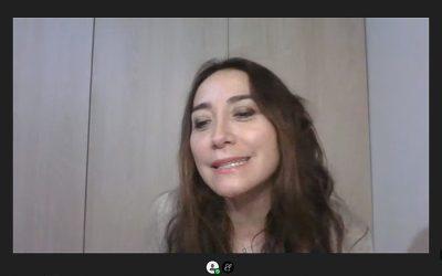 Jessica Fuentes, directora de Nutrición y Dietética, guió los cuatro encuentros.