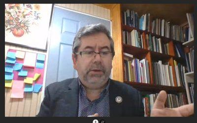 Jesús Soto, director del Magíster en Alta Dirección y Gestión de Instituciones Educacionales