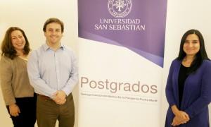 Marcia Bravo, Directora de Admisión y Servicios de Postgrado, y José Agustín Muñiz, coordinador de Relaciones Internacionales